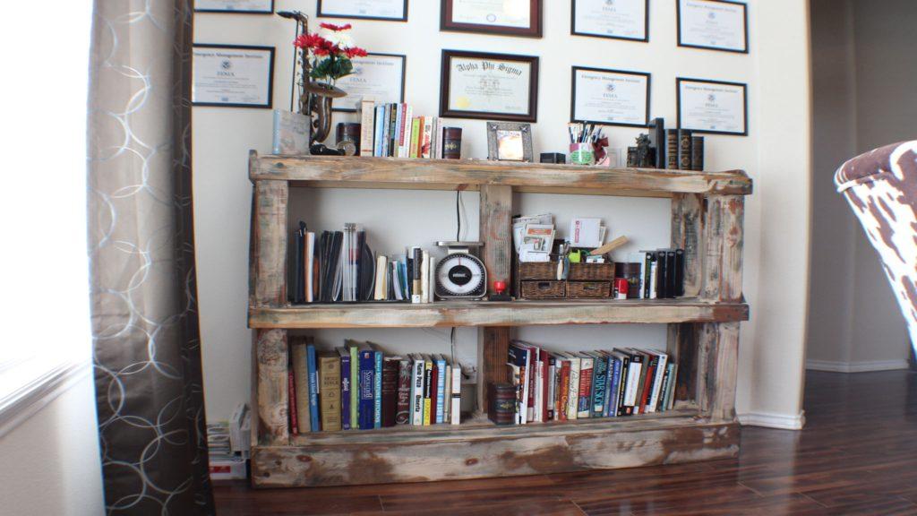 Rustic Book Case