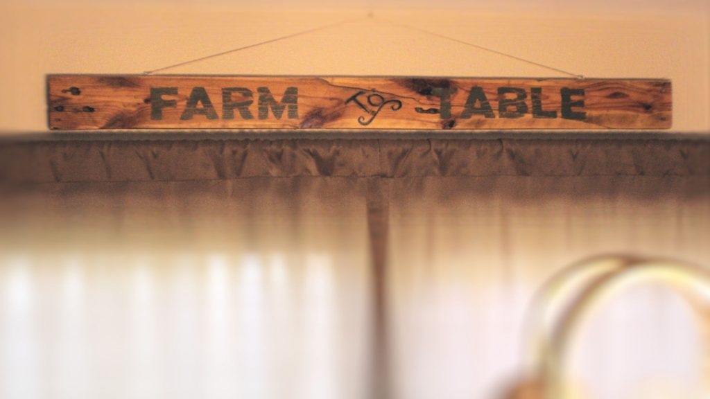 Signs can be customized to fit your decor