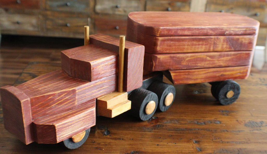 Hand Tooled Vintage Truck