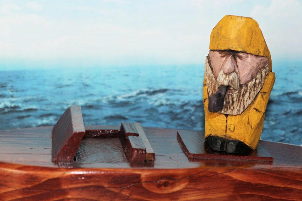 Hand Carved Seaman