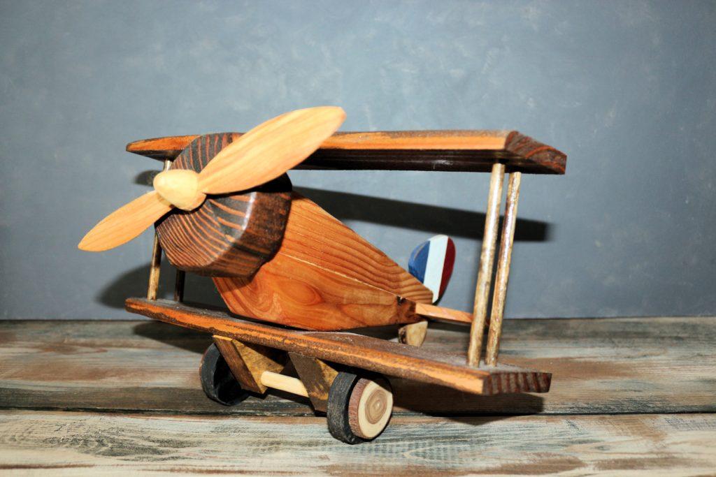 Hand Tooled Vintage Plane